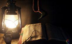 Mag je koranverzen op een papier aanraken zonder de wassing?